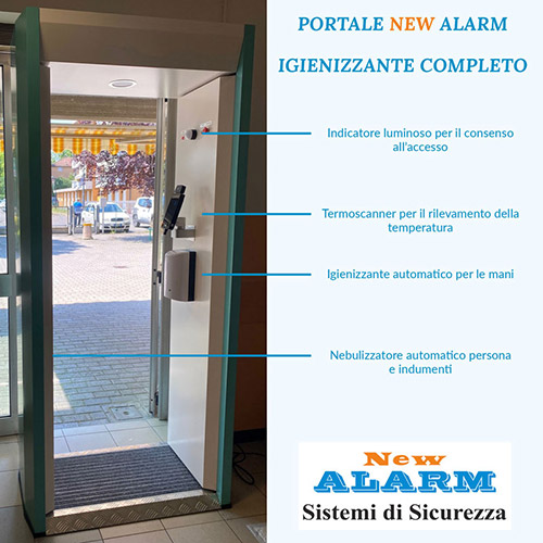 Portale New Alarm